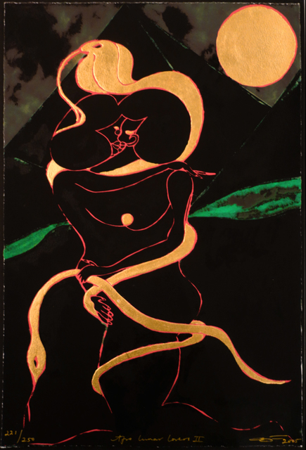 , 'Afro Lunar Lovers II,' 2005, Bill Hodges Gallery