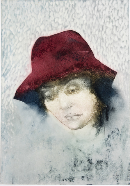 , 'Lady with Red Hat,' 2017, Lois Lambert Gallery