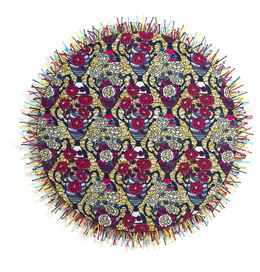 , 'Circular Fetish Painting with Nails 5,' 2012, Blain | Southern
