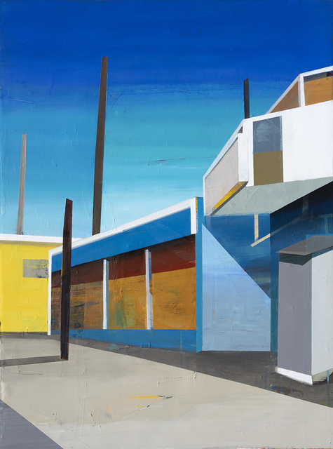 Siddharth Parasnis, 'Cityscape #20', 2020, Painting, Oil on canvas (framed), Sue Greenwood Fine Art