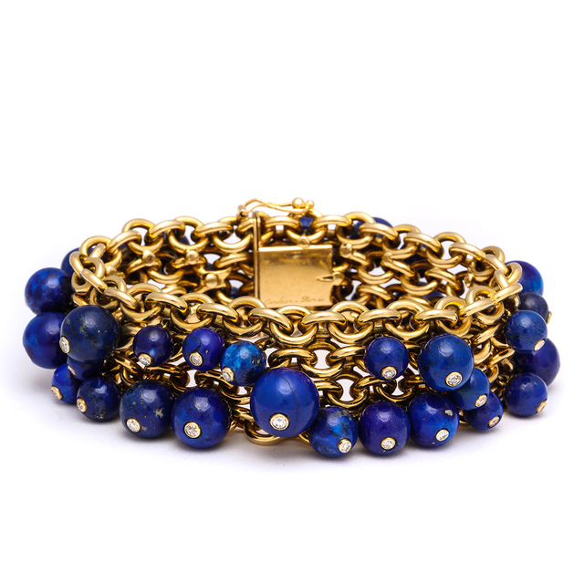 , 'Gold Chain Bracelet ,' 1930, A La Vieille Russie