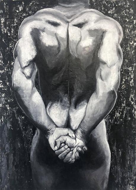 Sylvie Lescan, 'Corps d'athlète', 2019, Galerie Libre Est L'Art