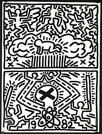 Keith Haring, 'No Nukes', 1982, Woodward Gallery