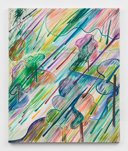 Shara Hughes, 'Rain Ray', 2018, Rachel Uffner Gallery