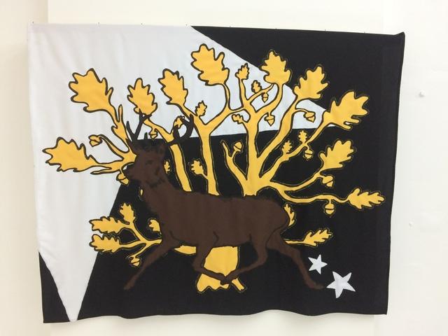, 'Flag 4,' 2017, NN