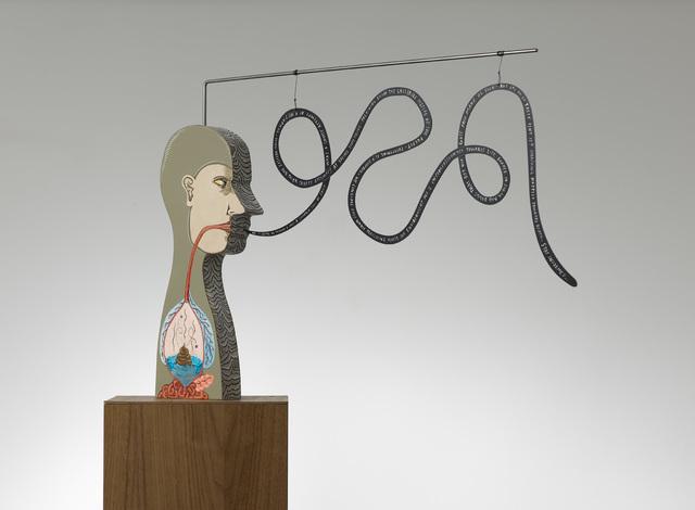 , 'The cemetery of reason (Tummy full of shit),' 2008, Nils Stærk