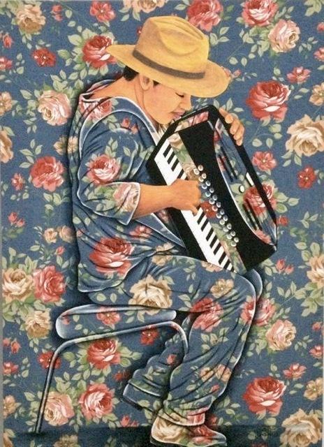 Gildasio Jardim, 'Untitled', 2019, Painting, Acrylic on Fabric, Duetto Arts New York