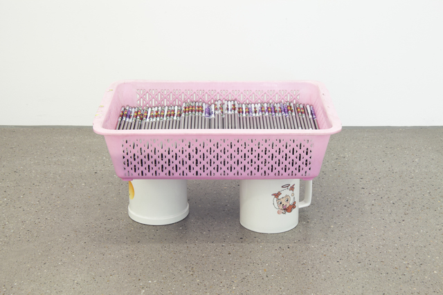 , 'Chopstick Basket Piece,' 2016, Galerie Maria Bernheim