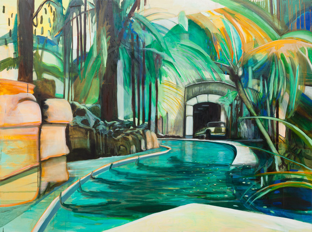 , 'Artificial Spring and Palms,' 2013, BISCHOFF/WEISS