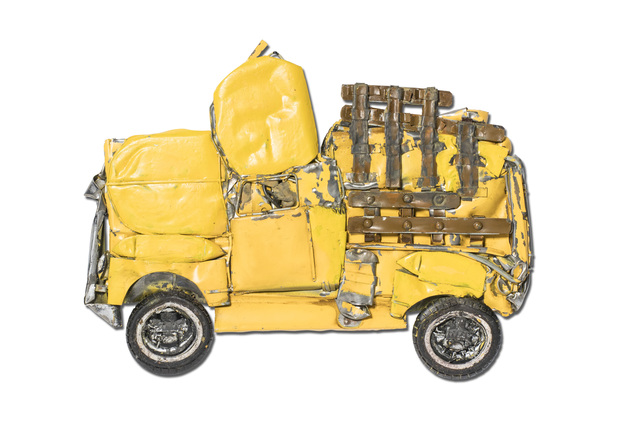 , 'Pressed Model Yellow Chevrolet Pickup,' 2018, Over the Influence