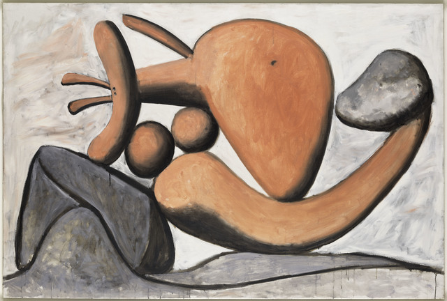 , 'Femme lançant une pierre (Woman Throwing a Stone),' 1931, Musée Picasso Paris