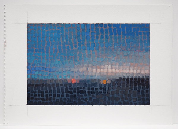 , 'Mosaic: Sunset With 2 Lights,' 2015, Nohra Haime Gallery