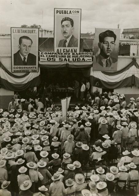 , 'Untitled (Political Rally),' ca. 1946, Edwynn Houk Gallery