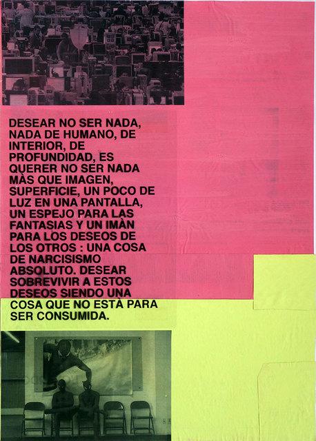 , 'Desear no ser nada...,' 2016, Altxerri