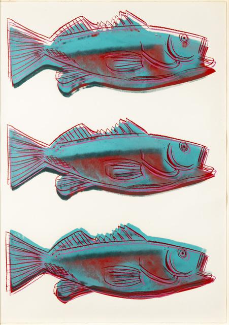 Andy Warhol, 'Fish', 1983, Leslie Sacks Gallery