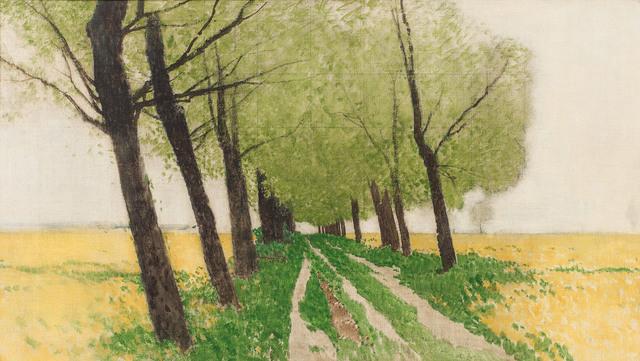 , 'Alley on the field's edge,' ca. 1920, Galerie Kovacek & Zetter