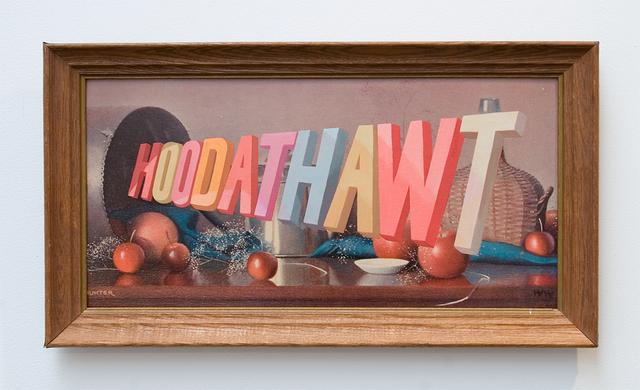 , 'HOODATHAWT,' 2013, Joshua Liner Gallery