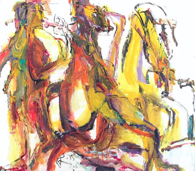 , 'Cantabile in Yellow I,' 2015, Oeno Gallery