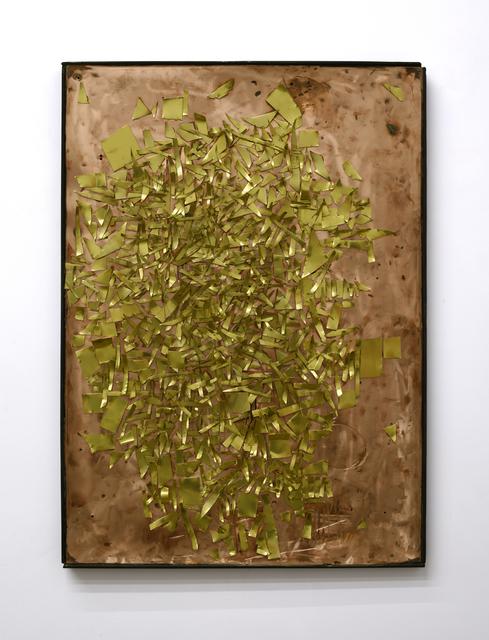 , 'Contemporary Ruin (Brass on Copper),' 2018, Mugello Gallery