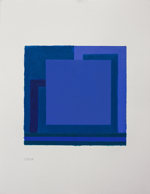 , 'To be titled ( Study for painting) ,' 2016, Galeria Senda