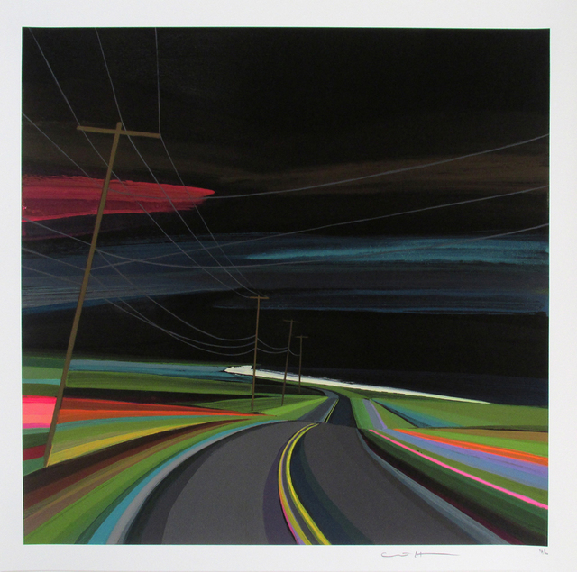 , 'Nighttime on Old Montauk Highway,' 2016, Roman Fine Art