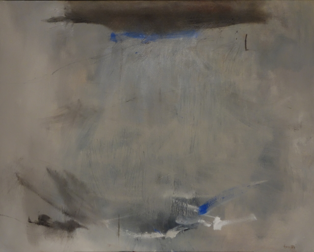 , 'SendimentsOli i grafit sobre tela73 x 92,' 2014, PontArte