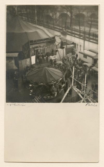 André Kertész, 'Fete Foraine sur le Paris de L'Hotel de Ville, Paris', 1926, James Hyman Gallery