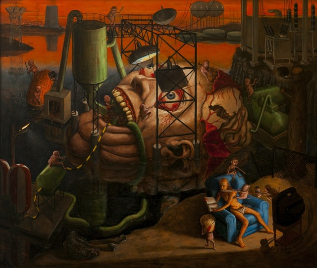 , 'The Temptation of St. Anthony,' 1993, Childs Gallery