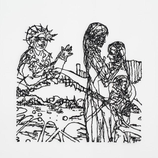 , 'Von Einem zum Anderen,aus der Reihe: Der Familienkreis,' 2015, Galerie Tore Suessbier