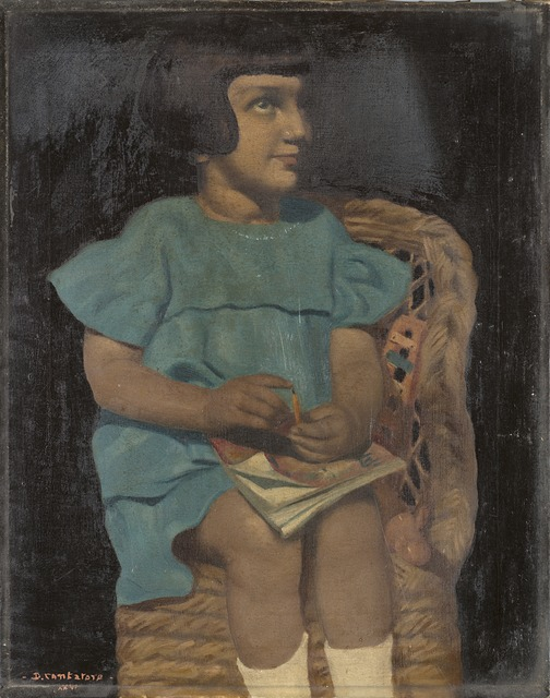 Domenico Cantatore, 'Bambina seduta', 1926, Il Ponte