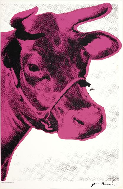 Andy Warhol, 'Cow', 1976, Koller Auctions