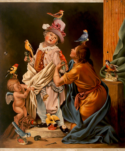 , 'Pygmalion and Bird Figurine Guy,' , Robischon Gallery