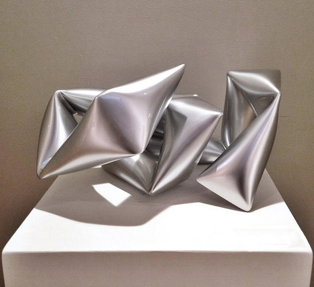 , 'Silver Object,' 2014, Caldwell Snyder Gallery