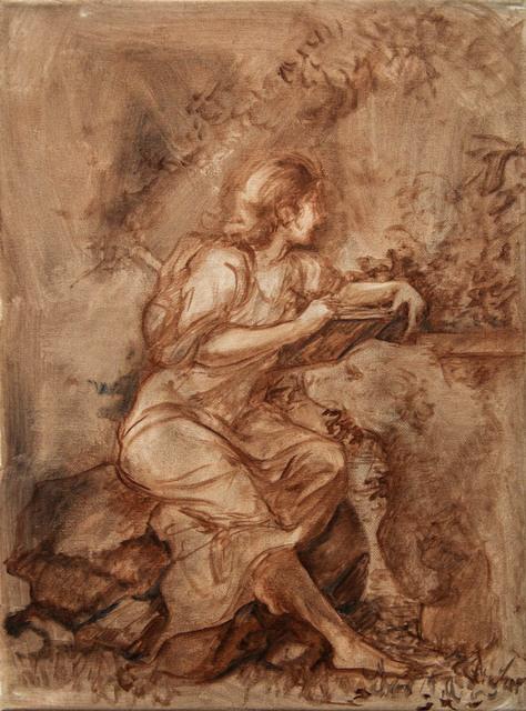 , 'Virtue in Burnt Umber,' 2016, Treason Gallery