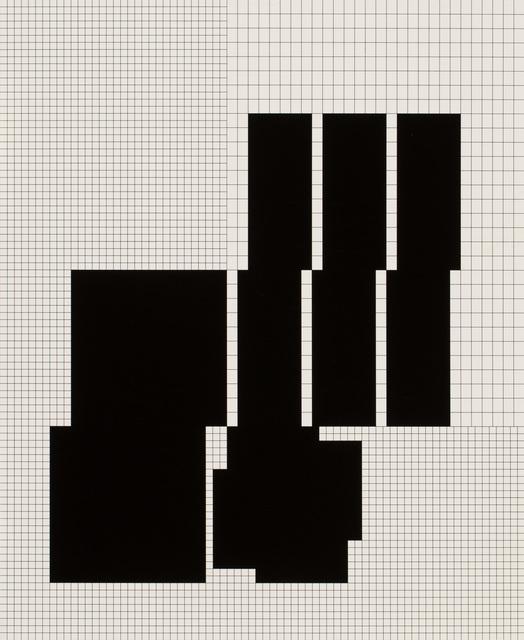 , '10 daten-distributionen von koordination p3-26-1973-1977, 5th distribution,' 1977, VILTIN Gallery