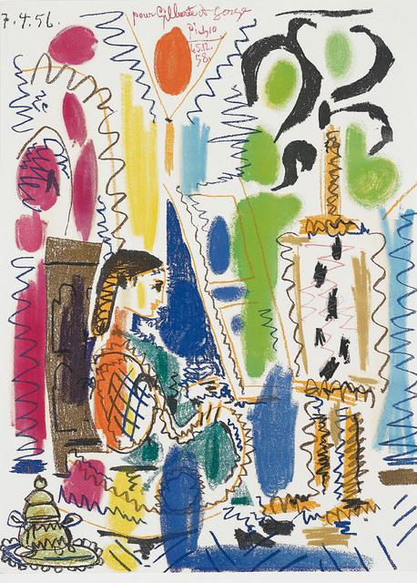 Pablo Picasso, 'L'Atelier de Cannes (Cannes Studio) (cover for Ces peintres nos amis vol. II)', 1958, Phillips