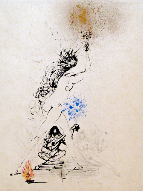 Salvador Dalí, 'Girl with torch', 1968, DTR Modern Galleries