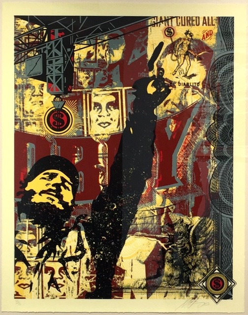 Shepard Fairey (OBEY), 'Castro Collage, from This is Your God Series', 2003, Gregg Shienbaum Fine Art