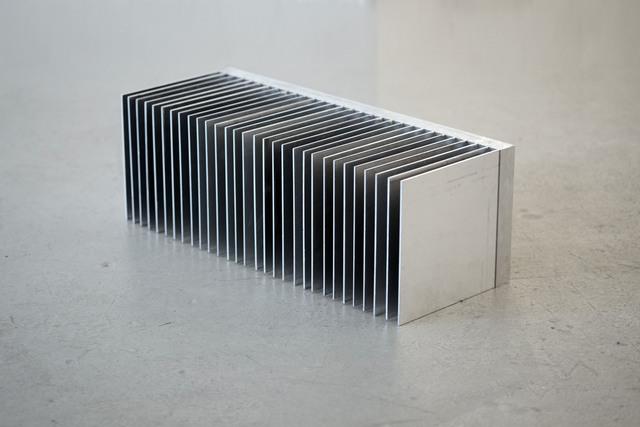 Judith Fegerl, 'still', 2013, Sculpture, Heat sink, aluminium (62 fins), Galerie Hubert Winter