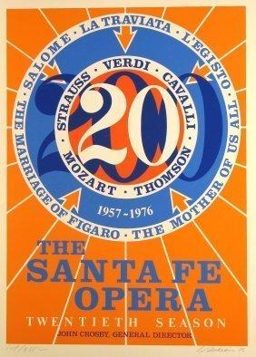 Robert Indiana, 'Santa Fe Opera,' 1976, Vertu Fine Art
