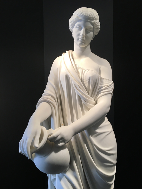 William Rinehart, 'Woman of Samaria', 1871, Caldwell Gallery Hudson