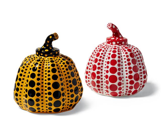 Yayoi Kusama, 'Kusama Pumpkins (Set of Two)', 2015, Lot 180