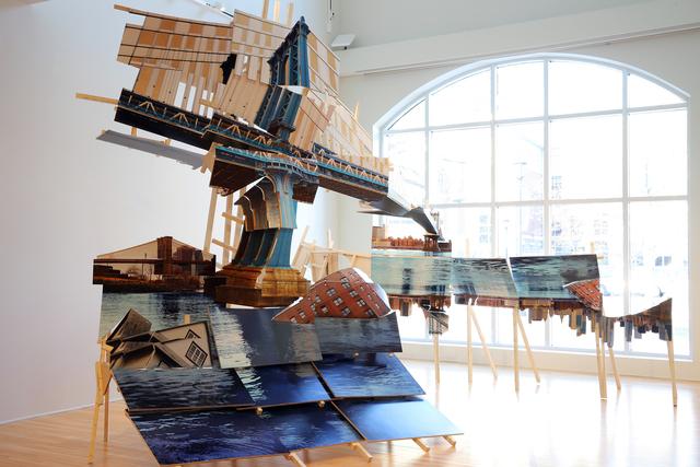 Isidro Blasco, 'Adrift Houses', 2019, John Davis Gallery