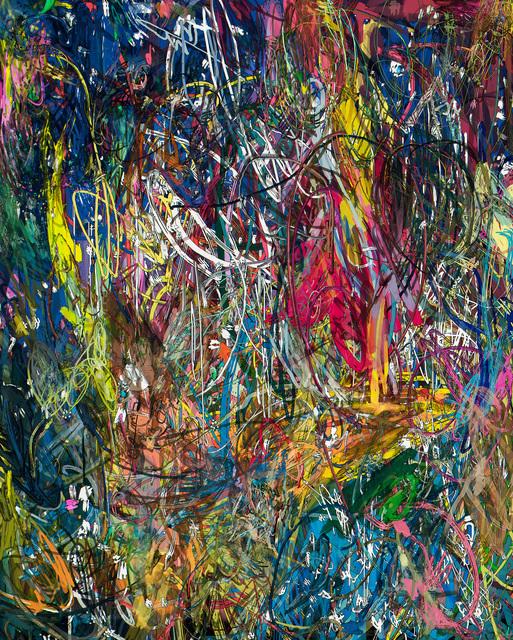 , 'Untitled (Lasso Painting #1),' 2016, Boca Raton Museum of Art