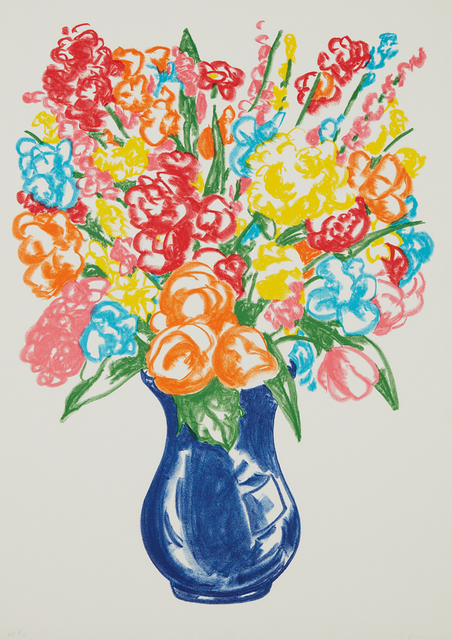 Jeff Koons, 'Flowers', 2001, Phillips