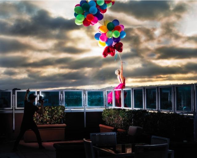 David Drebin, 'Blowing Away', Photography, Digital C Print, Art Angels