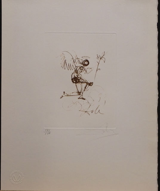 Salvador Dalí, 'Symbols Guiding Angel', 1970, Fine Art Acquisitions