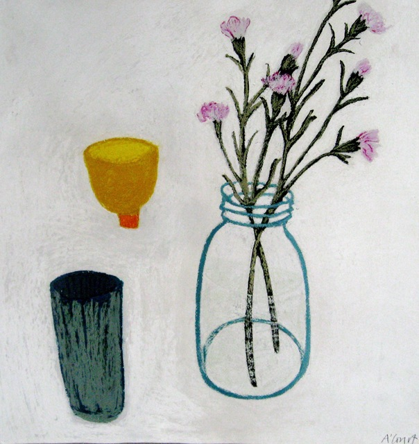 , 'Yellow Pot in Between ,' 2012, Susan Eley Fine Art