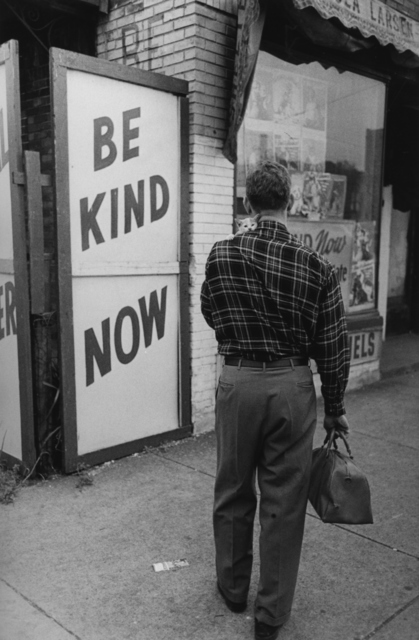, 'Be Kind Now, Chicago,' 1950, Monroe Gallery of Photography