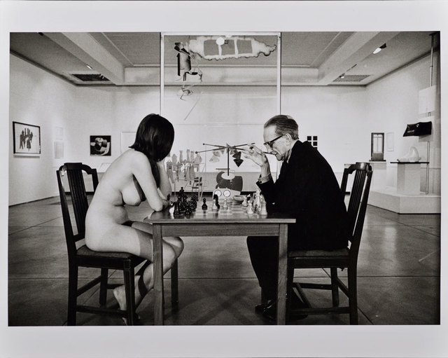, 'Duchamp Playing Chess with a Nude (Eve Babitz), Duchamp Retrospective, Pasadena Art Museum,' 1963, Robert Berman Gallery